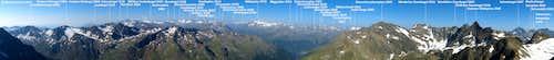 Gaiskogel summit panorama