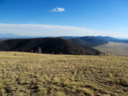 Valles de Caldera from summit