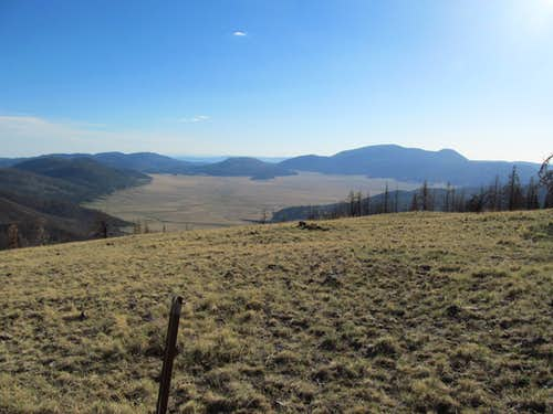 Valles de Caldera from summit