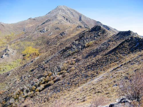 West Ridge Santa Rosa Peak