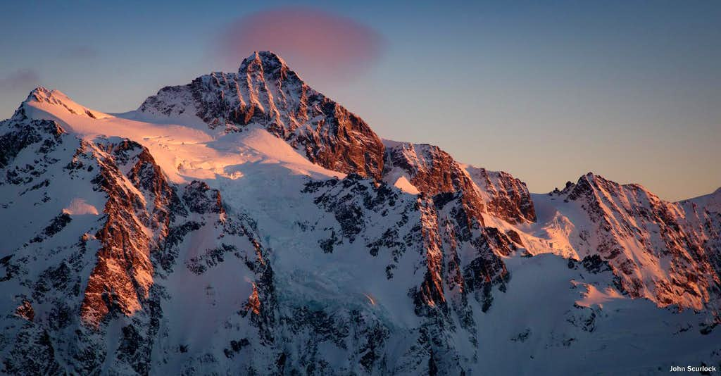 Alpenglow on Mount Shuksan