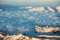 Alborz above the clouds