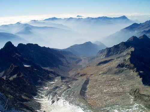 Valtellina from Monte...