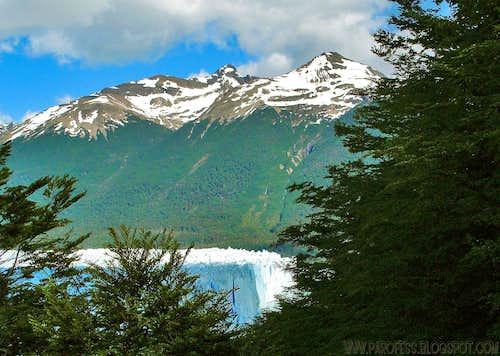 Nice Window view to Perito Moreno glacier...