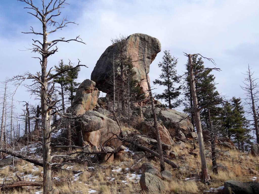 Cheesman Summit Boulder