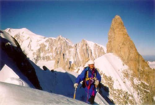 Mont Blanc, Arete de...