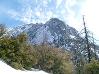 Tahquitz in the winter