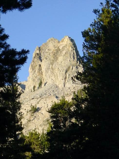 Crystal Crag seen from Lake...