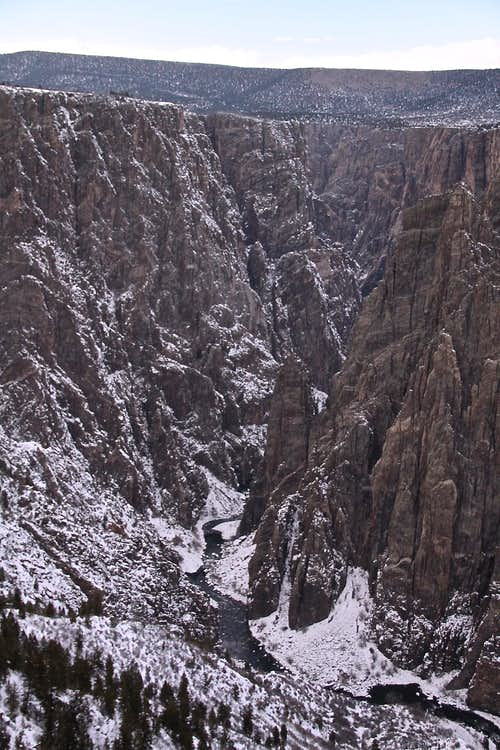 Black Canyon - winter