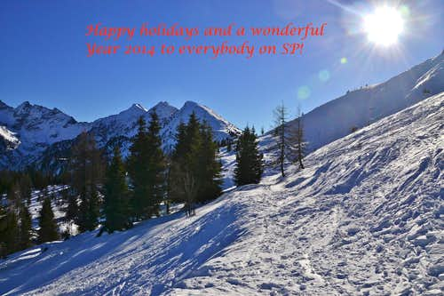Happy holidays and a wonderful New Year to everyone on SummitPost!