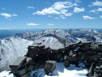 Summit wind shelter looking...