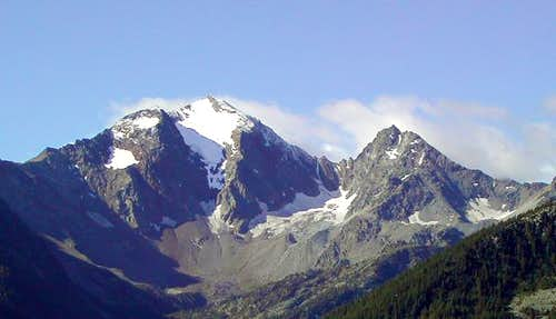 View of the head of Vallone...
