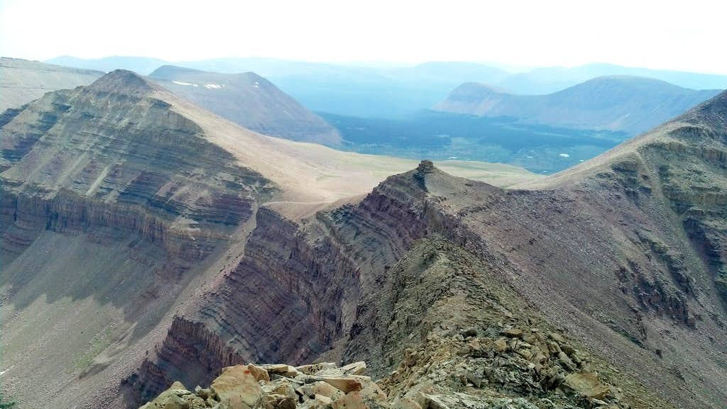View from Henrys Fork Peak