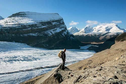 Robson Glacier & Snowbird Pass