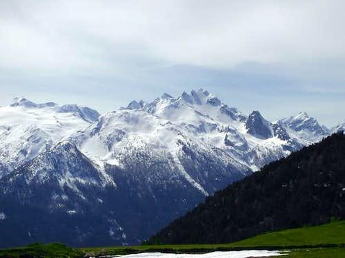 Torre del Tighet (2976 m.) e...