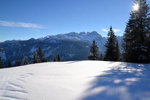 A day in winter on Russbacher Horn