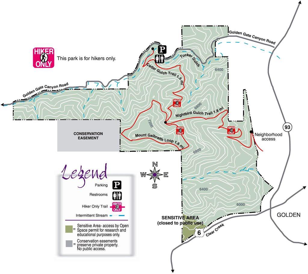 Mount Galbraith Routes
