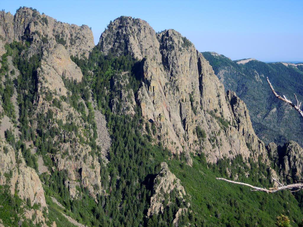 Jawbone Ridge from the North