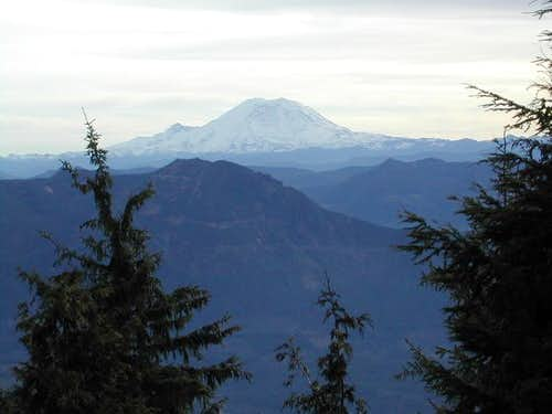 A nice view of Mt. Rainier...