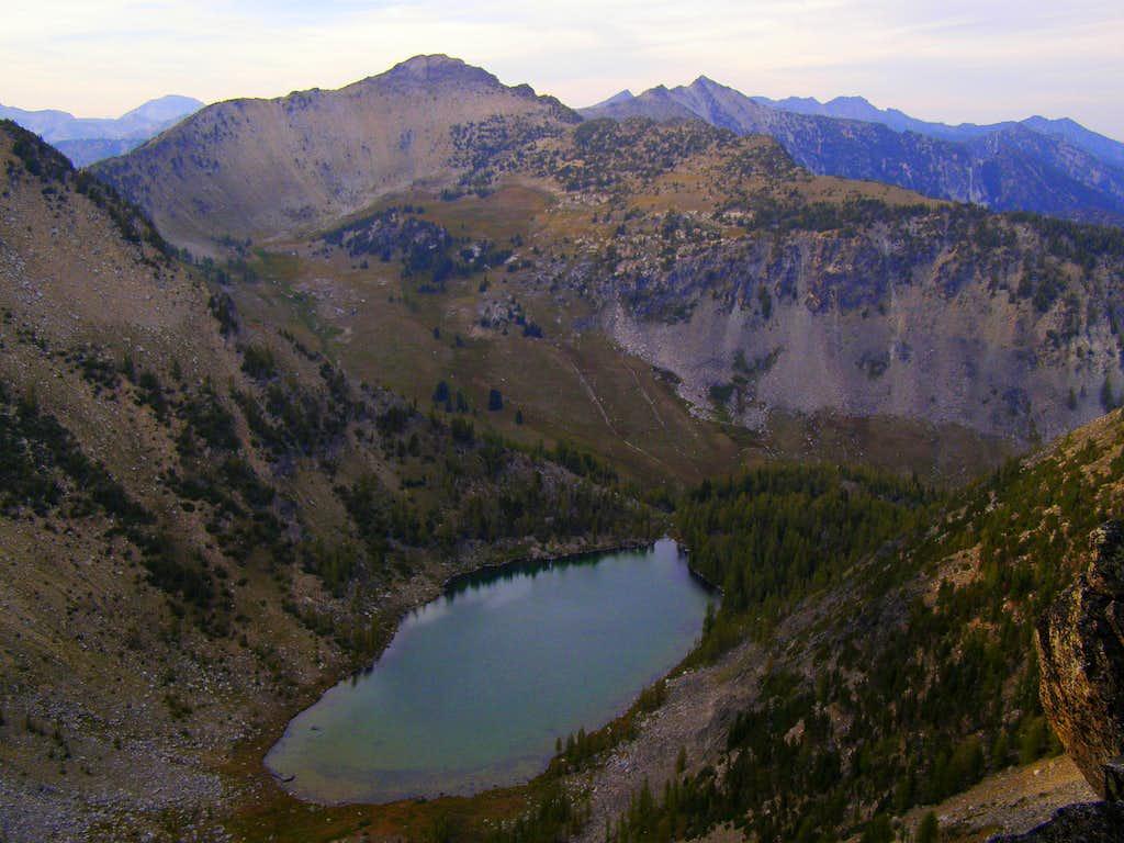 Sunrise Lake from the Summit