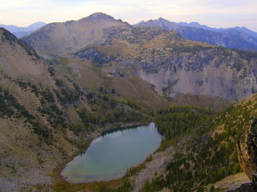 Sunrise Lake from the Summit