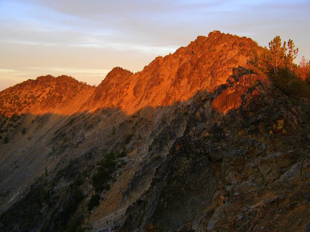 Summit Alpenglow