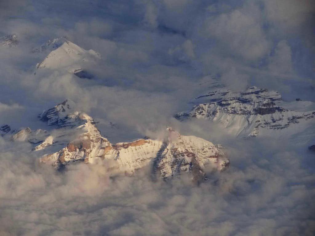 Snowy Dolomites