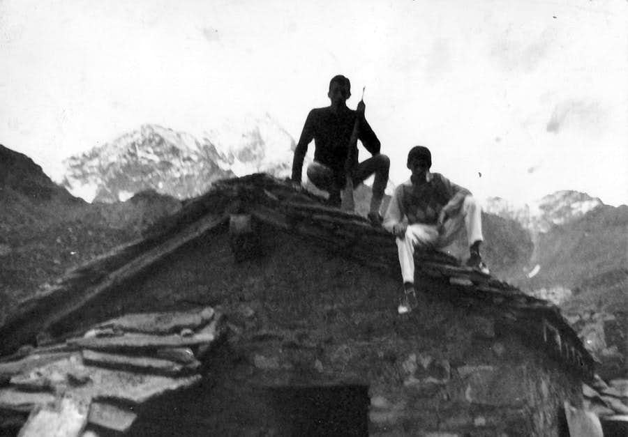 Mountain Friends 1963/2013 Old Arbolle Shelter 1965