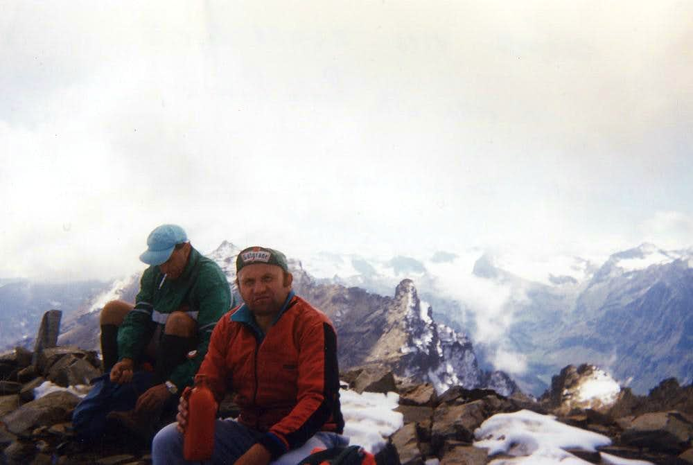 Point Bianca, Notre Dame Tower & Bioula Summit 1994
