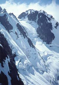 The upper Price Glacier and...