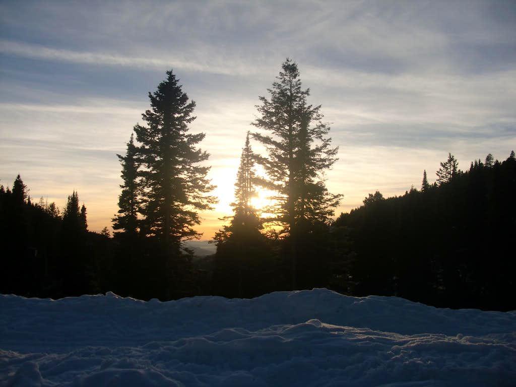 sunset peak trailhead