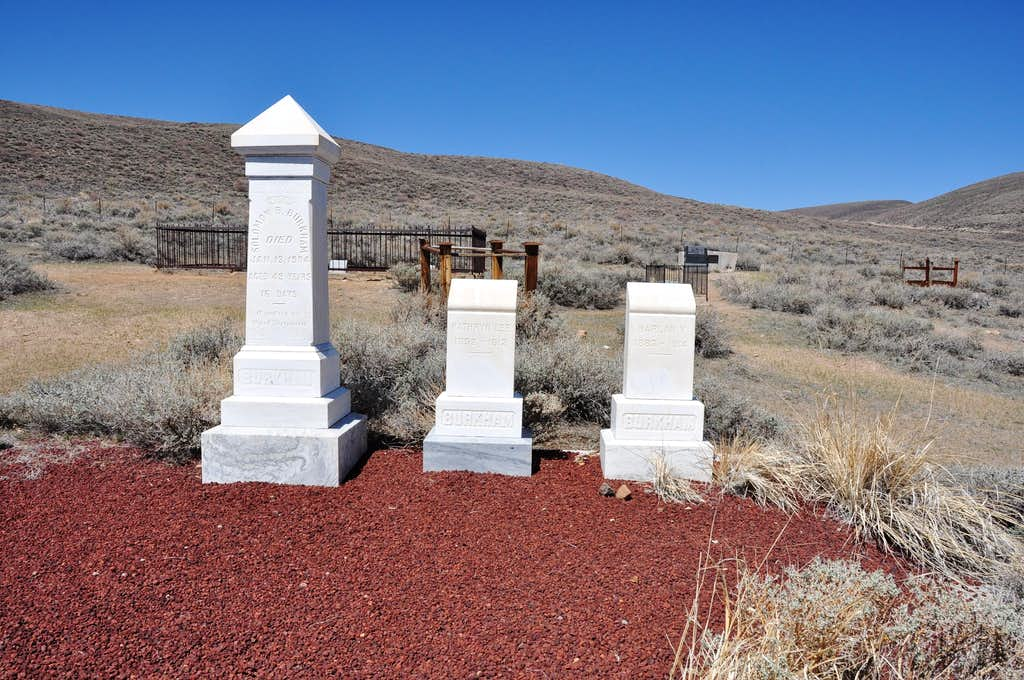 Well-kept graves