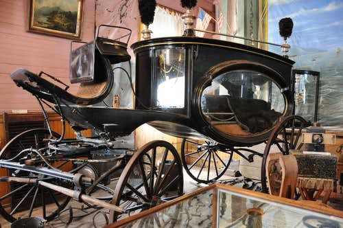 Hearse at the museum