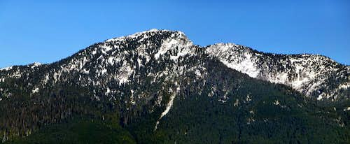 Mount Pilchuck from Explorer Hill