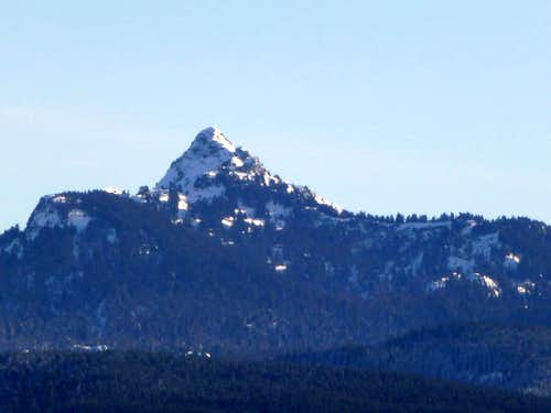 Mount Stickney from Explorer Hill