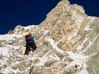 Climbing Vihren