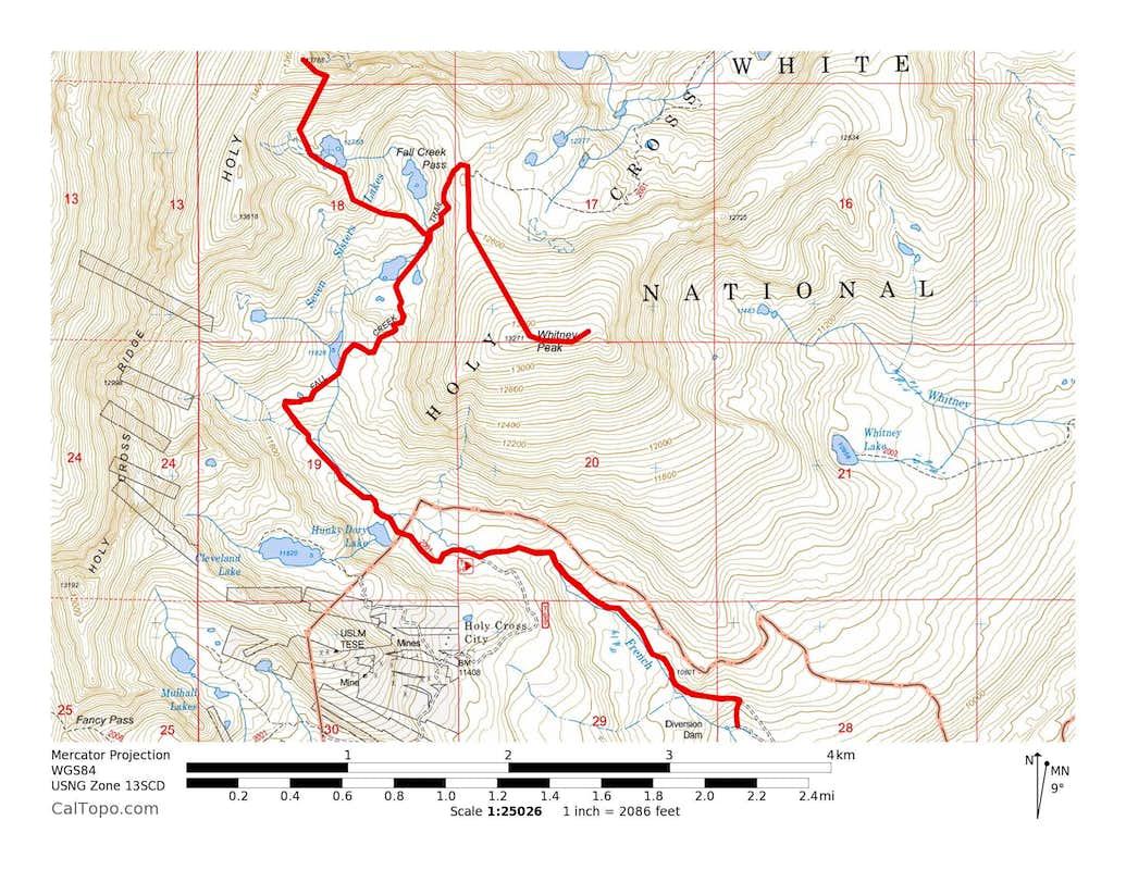 13768 & Whitney Peak