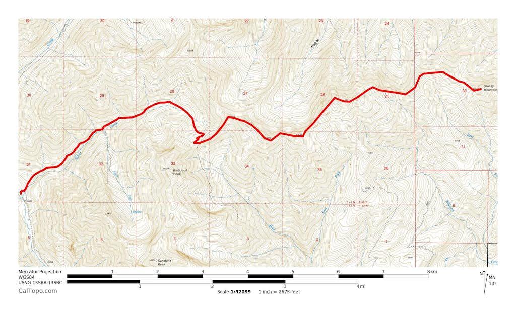 13832, 13811 & Grassy Mountain