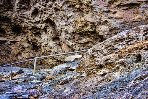 Cave Path at the top