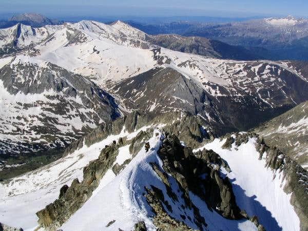 view from the Pico de Aneto,...