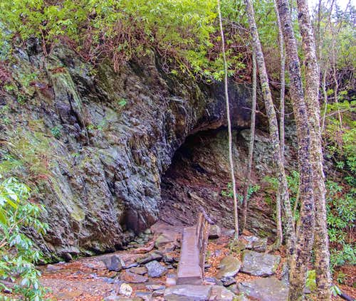 Lower Entrance to Arch Rock