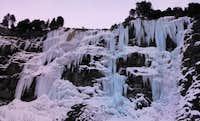 Ice cascade