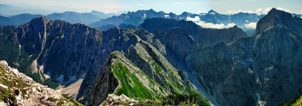 Ridges of Julian Alps