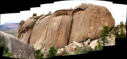 Summit block panoramic.