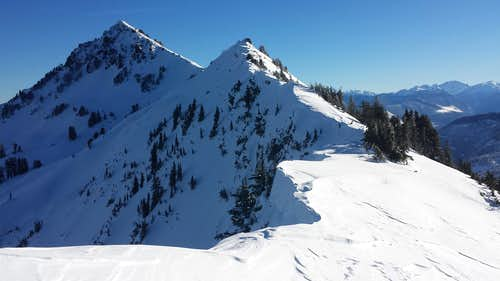 Mount Townsend summit ridge