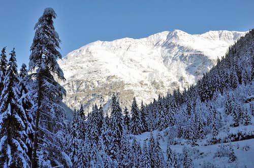 Ötztal in winter