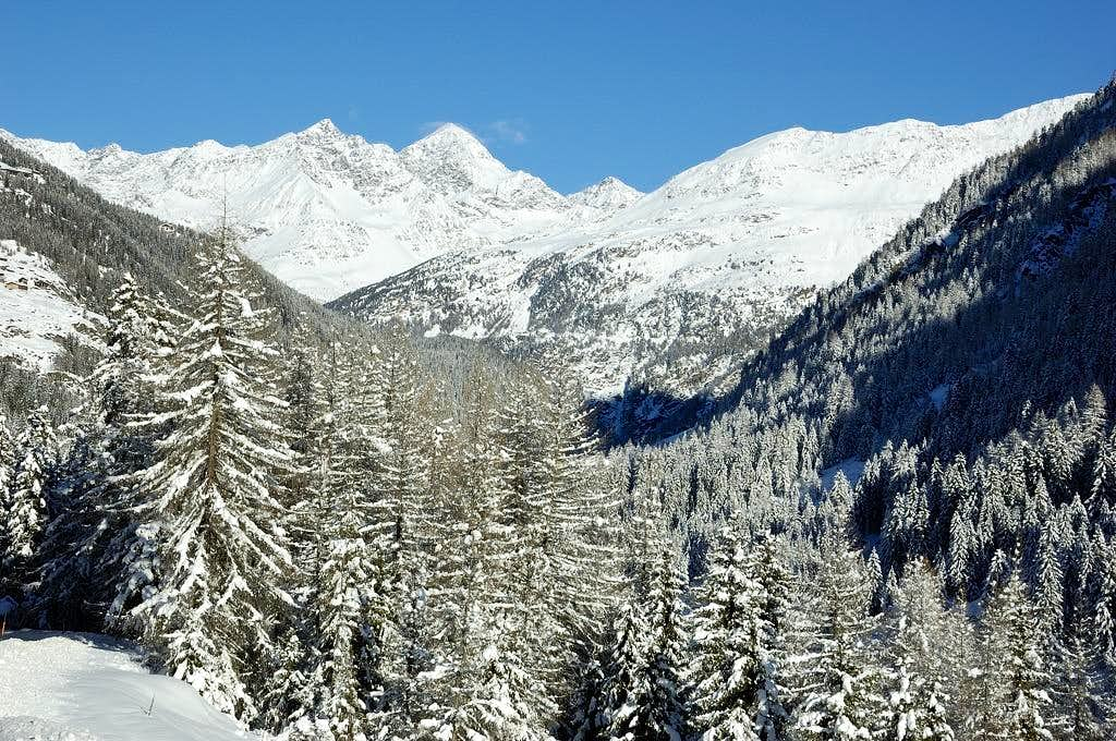 Ötztal in winter