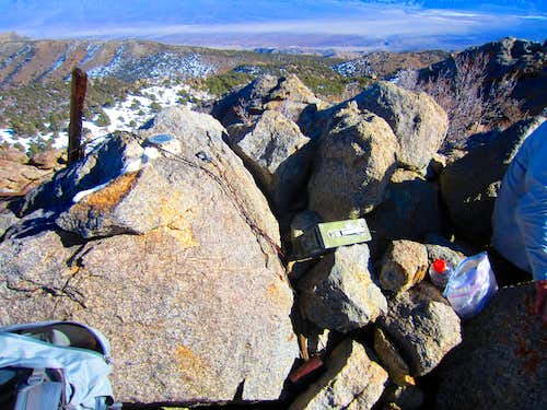 The summit benchmark and register
