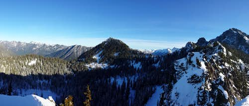 Avalanche Mountain 1-5-2014