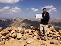 Summit, Mt Elbert